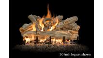 30 inch Arizona Juniper gas log set