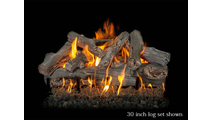 30 inch Western Driftwood gas log set