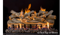 42 inch Arizona Juniper gas log set