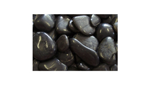 Black Polished Pebbles
