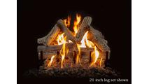 21 inch Western Driftwood Gas Log Set