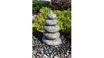 30″ Speckled Granite - Cairn Fountain Kit