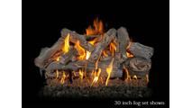 30 inch Western Driftwood gas log set