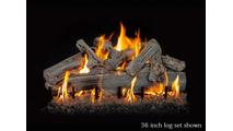 36 inch Western Driftwood gas log set
