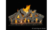 42 inch Western Driftwood gas log set