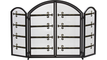 3 Fold Arched Decorative Screen