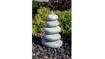 30″ Green Marble - Cairn Fountain Kit