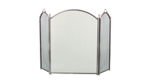 """3 Fold Pewter Arched Screen 29"""" x 52"""""""