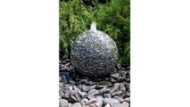 20″ Speckled Granite Sphere Fountain