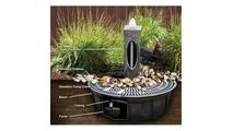 18″ Green Marble - Almond Fountain Kit