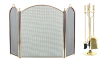 3-Fold Arched Screen with Matc