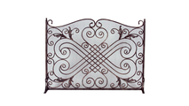 Arched Copper Panel Screen