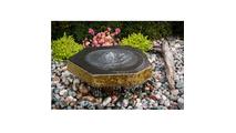 Basalt Bird Bath Fountain Kit
