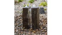 Basalt Fountain Kit - 36″ Double Split Polished 2 Piece
