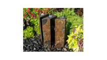 Basalt Fountain Kit - 36″ Triple Split Polished 3 Piece