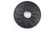 Magnetic Non-Metal Flat Black Flange Cover - Hermosa Design
