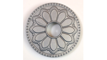 Magnetic Non-Metal Seaside Silver Flange Cover - Hermosa Design