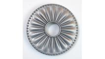 Magnetic Non-Metal Seaside Silver Flange Cover - Laguna Design