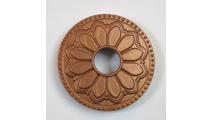 Magnetic Non-Metal Newport Copper Flange Cover - Hermosa Design
