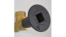 Escutcheon without flange cover