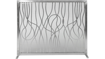 Abstract Design Fireplace Screen