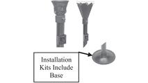 Tiki Torch Installation Kit