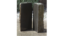 Basalt Fountain Kit - 24″ Double Split Polished 2 Piece