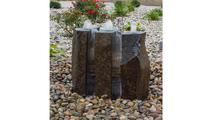 Basalt Fountain Kit - 24″ Triple Split Polished 3 Piece