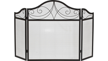 3-Fold Arched Screen with Diamond Design