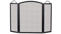 3-Fold Center Arched Wrought Iron Screen
