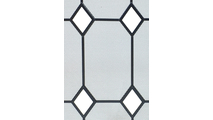 Glass Diamond Design Panel Screen