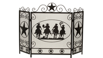 3-Fold Arched Cowboy Screen