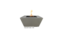 Ribeir Glass Fiber Reinforced Concrete Fire Pit shown in Ash