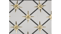 Polished Brass Star Design