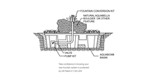 Mizu Kasai Fountain Kit Diagram