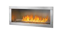 Galxy Fireplace Side View