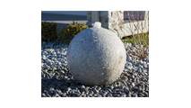 16″ Granite Sphere Fountain Kit