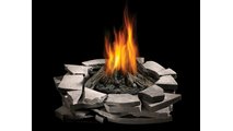 Patioflame Firepit With Custom Stone Surround