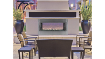 VRE-Outdoor Fireplace Installed
