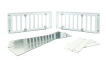 """3-5/8"""" Tall x 8"""" Stainless Steel Paver Vent Kit"""