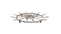 29 Inch Wide 12 Bar Stainless Steel Fire Pit Grate