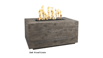 Catalina Wood Grain Gas Fire Pit 60 Inch