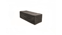 Rectangular Fire Pit Canvas Cover Black 48 Inch