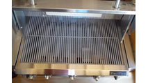 Cooking grids in the 36 inch ProFire Built-In Grill Head