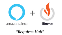 Amazon Alexa Compatible (Require Sold Separate Hub)