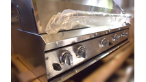 Closeup of the 48 Inch Profire Built-In Grill Head