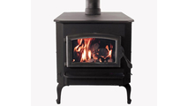 Buck Stoves Pewter Model 21 non-catalytic wood stove