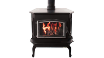 Buck Stoves Pewter Model 81 non-catalytic wood stove