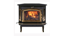 Buck Stove Model 91 Catalytic Wood Stove with Gold Door