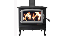 Buck Stoves Pewter Model 74 non-catalytic wood stove